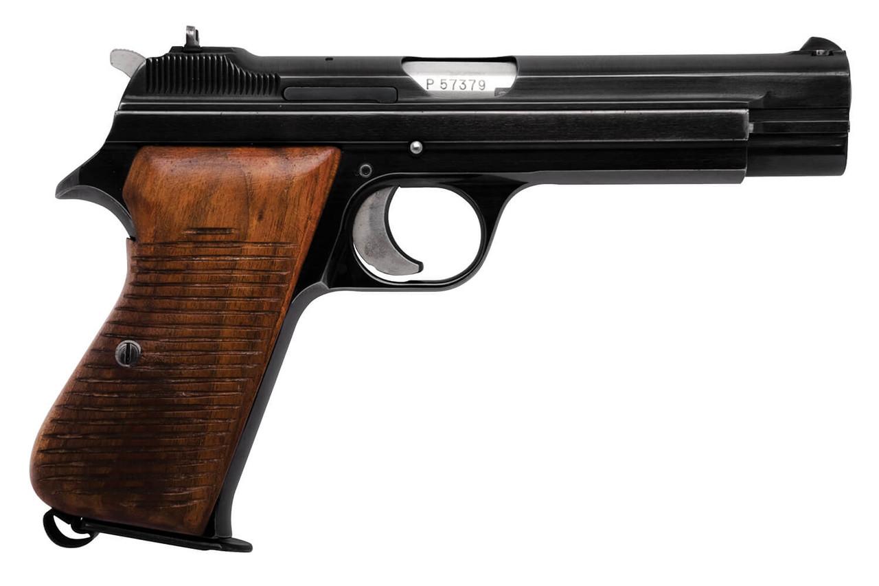 Swiss SIG P210 w/ Box & Wood Grip - Private Series - sn P57xxx