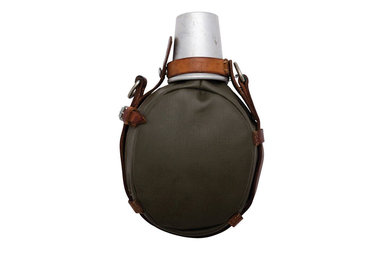 Swiss Army Aluminum Medic Canteen with Cup