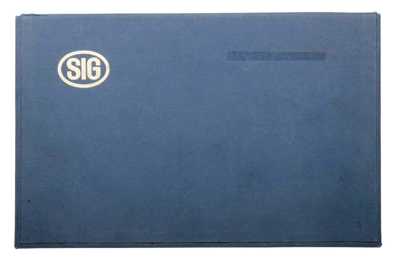 SIG P210-2 Private series w/ Box, Manual, Cleaning Kit - sn P87xxx