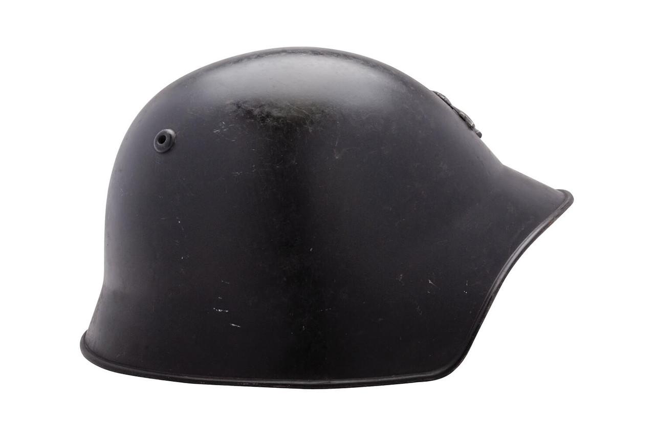 Swiss Canton Vaud M1918/40 Firefighter Helmet