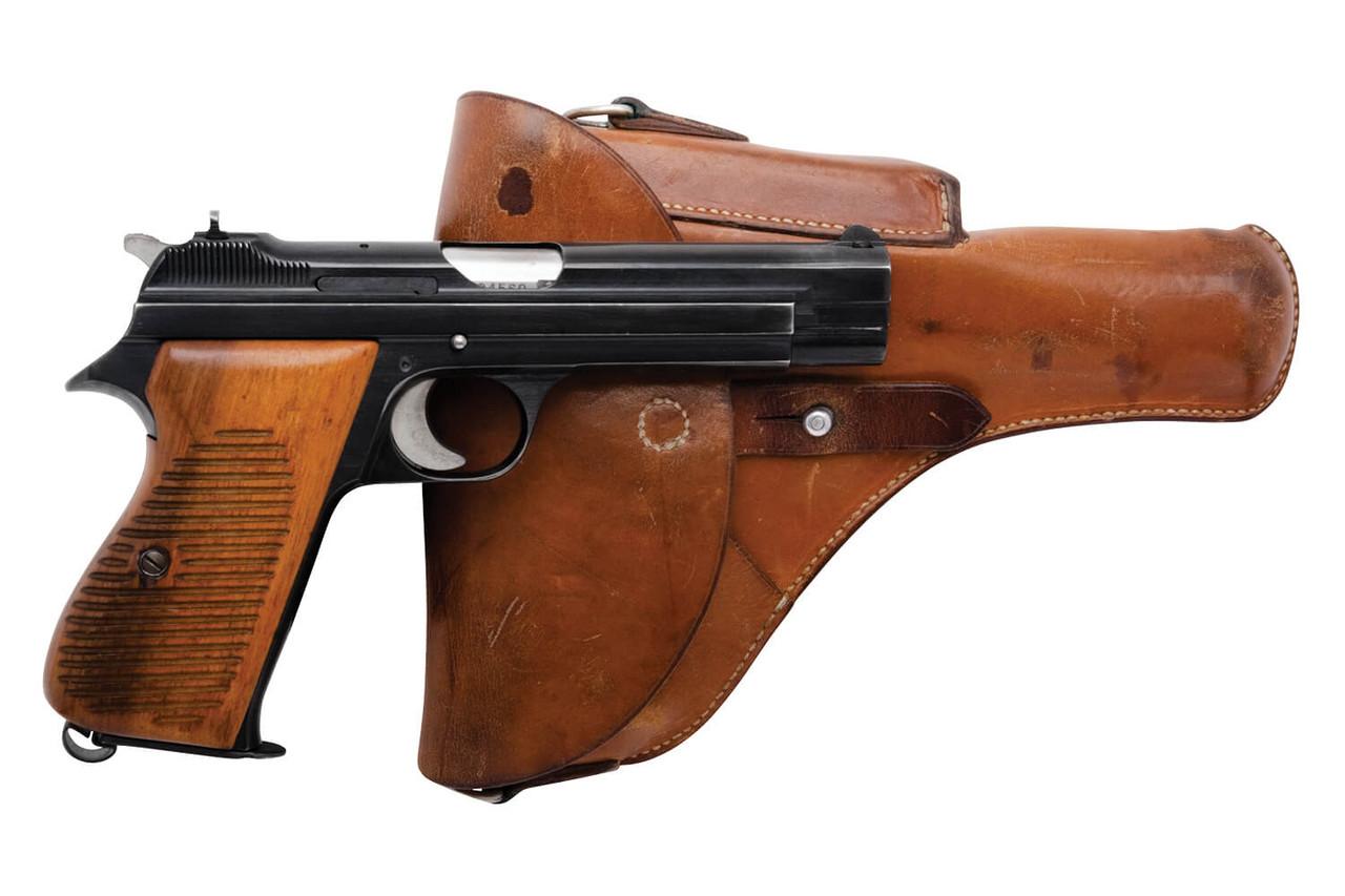 SIG Swiss Army P49 w/ Holster - sn A104xxx