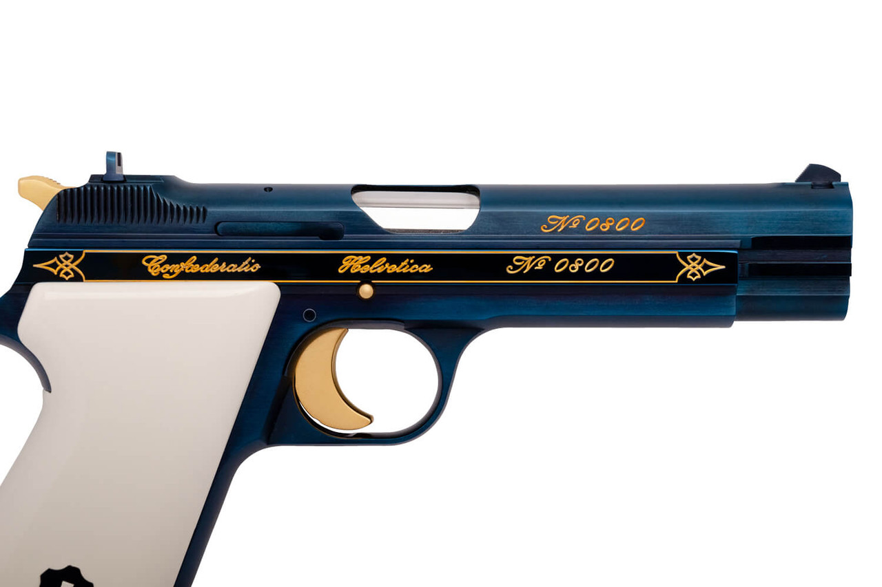 SIG P210 - 700 Years of Swiss Confederacy - sn 0800