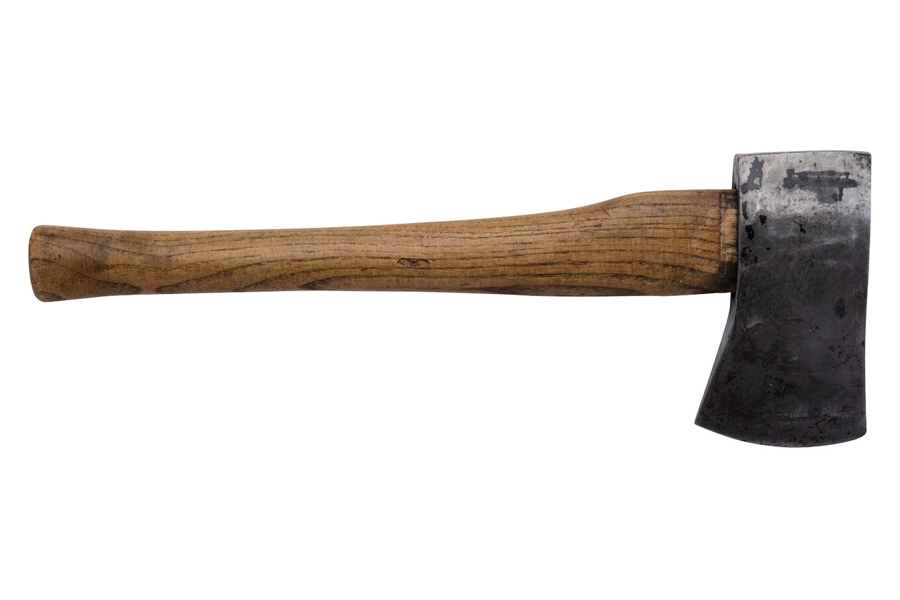 Swiss Military Hatchet with Leather Sheath