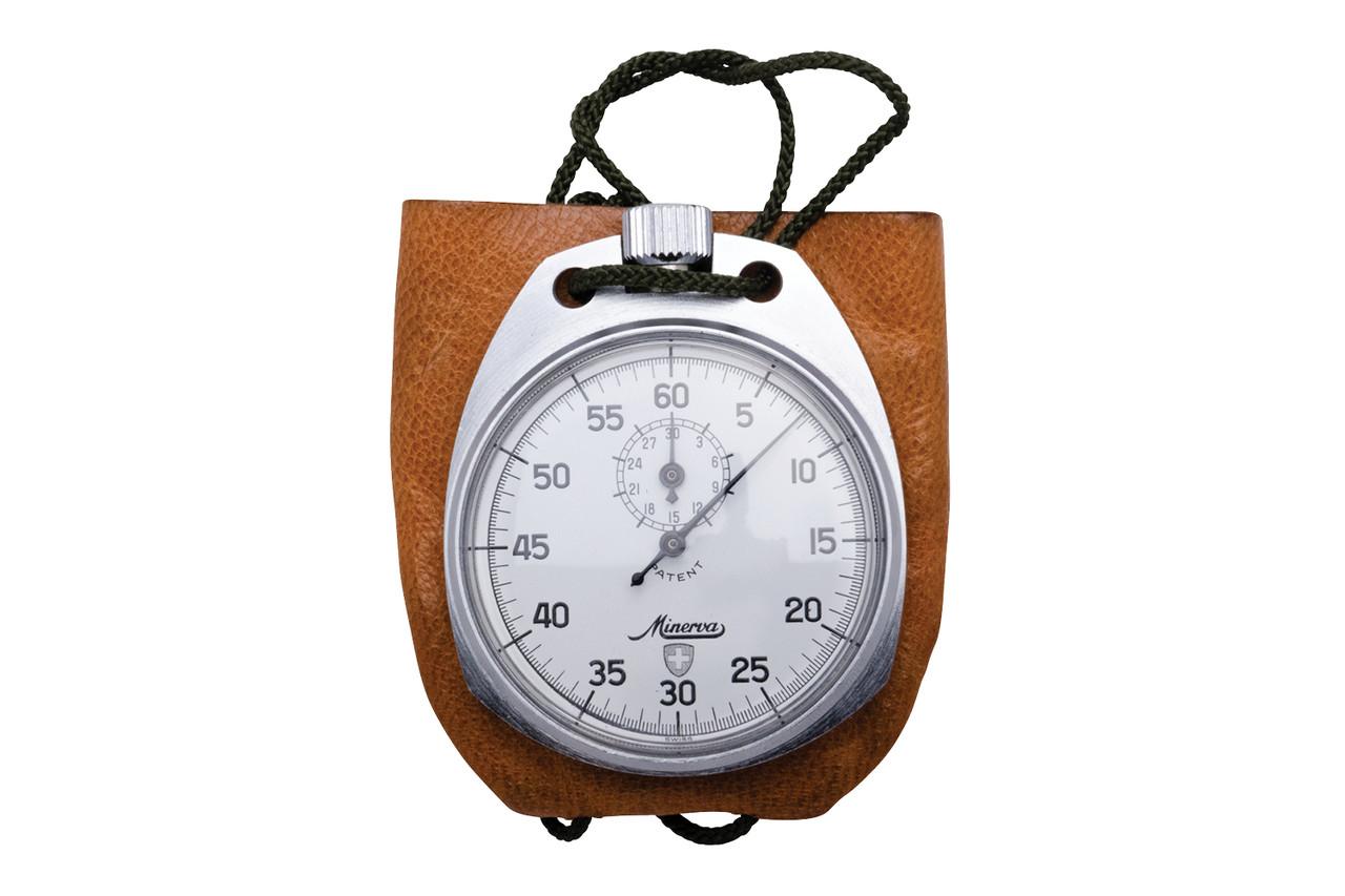 Swiss Army Pocket Stopwatch - Minerva