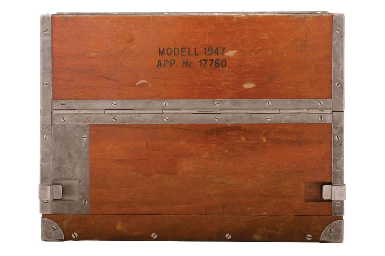 Vintage Swiss Army Telephone, Model 1947