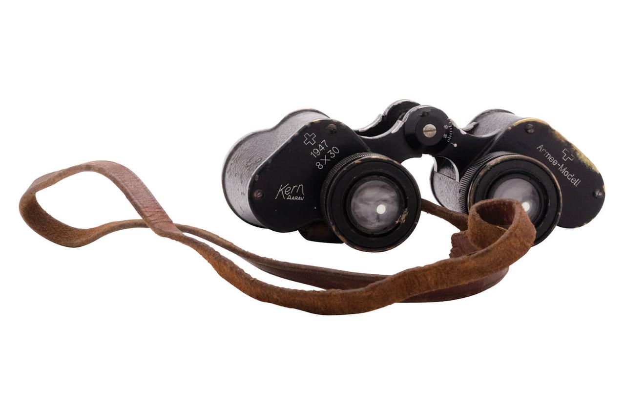 Swiss Infantry Kern Aarau 8x30 Binoculars - sn 4945
