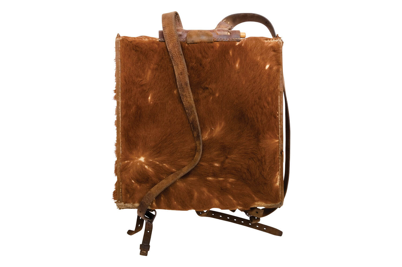 Swiss Medic / Radio Operator Large Cowhide Backpack (L09)