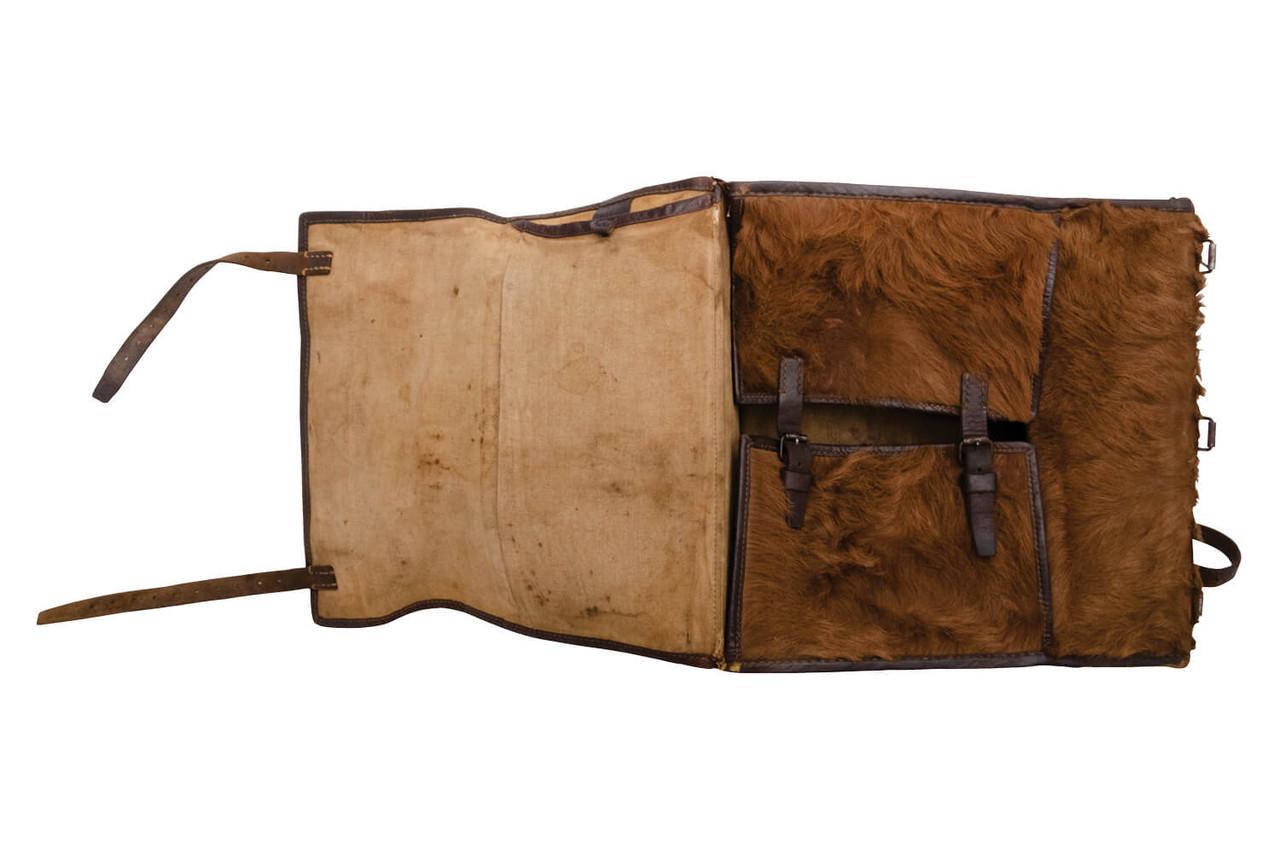 Swiss Medic / Radio Operator Large Cowhide Backpack (L04)