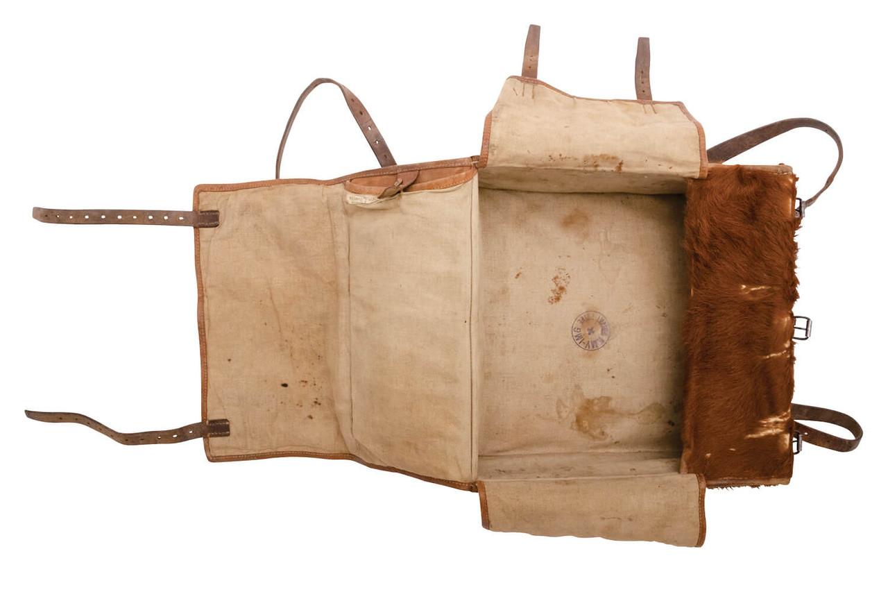 Swiss Medic / Radio Operator Large Cowhide Backpack (L05)