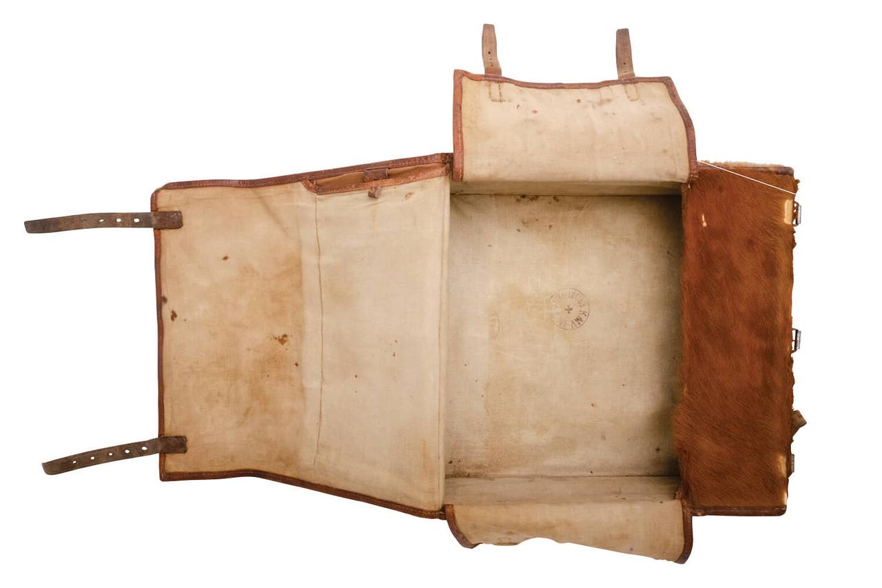 Swiss Medic / Radio Operator Large Cowhide Backpack (L06)