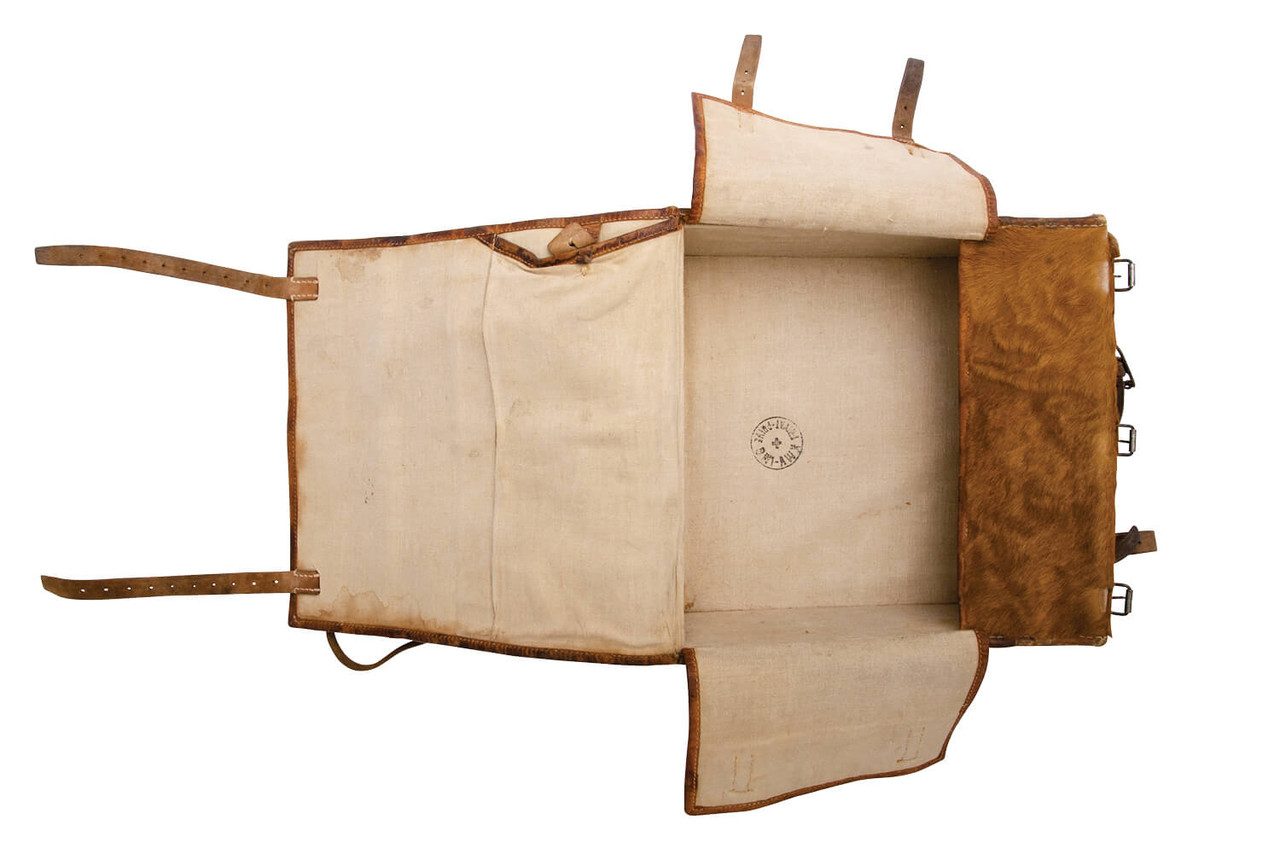 Swiss Medic / Radio Operator Large Cowhide Backpack (L07)
