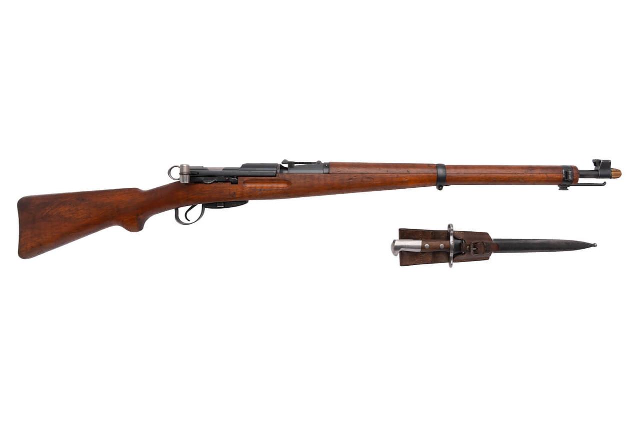 W+F Bern Swiss K31 w/ Bayonet - sn 613xx5