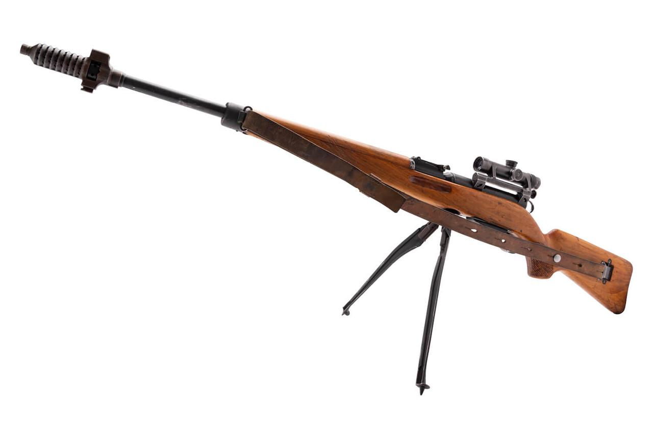 W+F Bern Swiss ZFK 55 Sniper Carbine - sn 2xxx