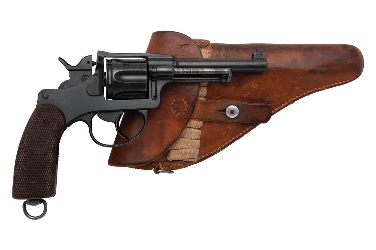 W+F Bern Swiss 1929 Revolver w/ Holster - sn 54xxx