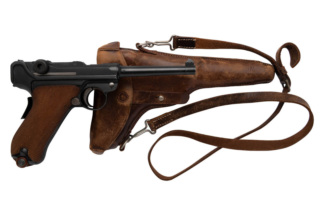 DWM 1906 Swiss Luger w/ Holster - sn 11xxx