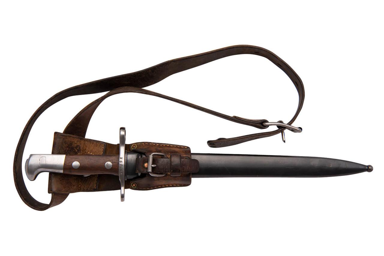 W+F Bern Swiss 1911 w/ Matching Bayonet - sn 360xxx