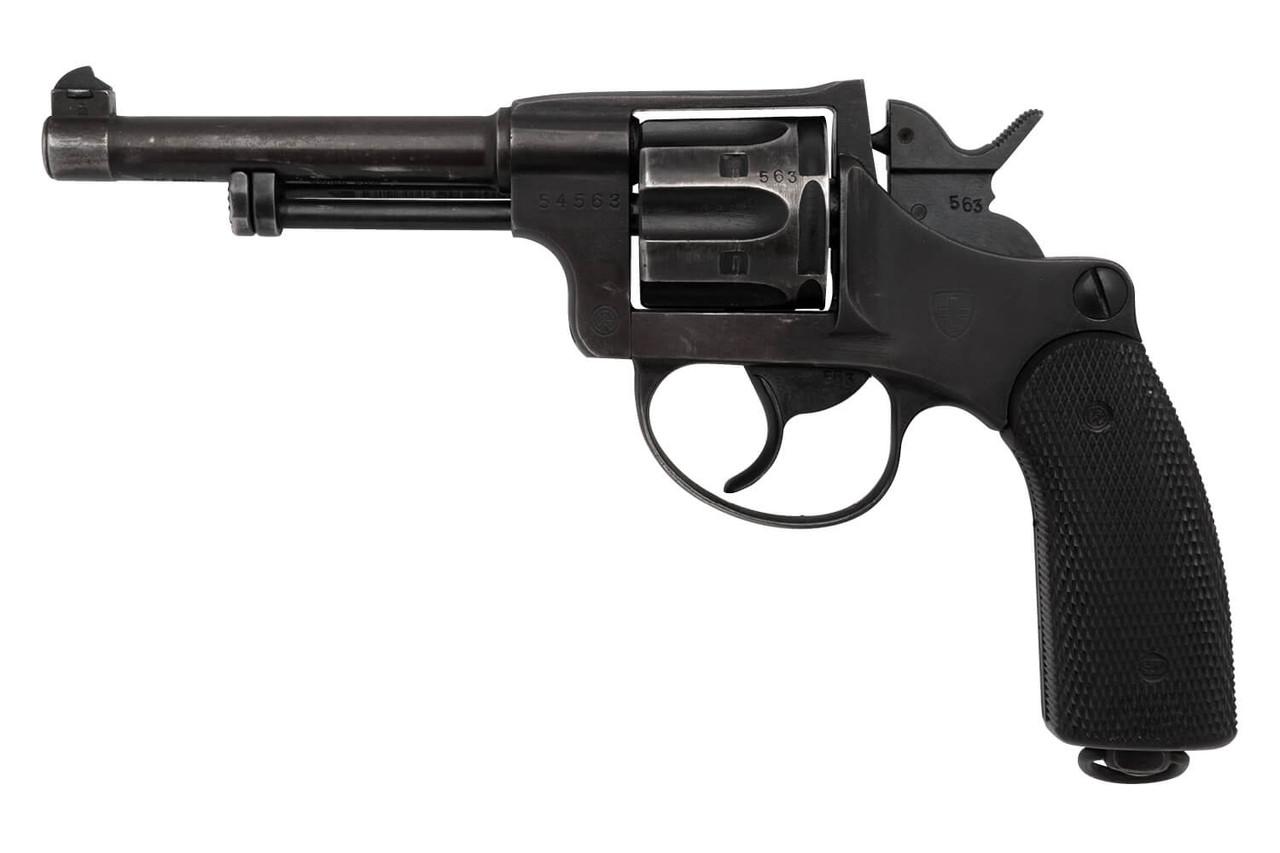 W+F Bern Swiss 1929 Revolver - sn 54xxx