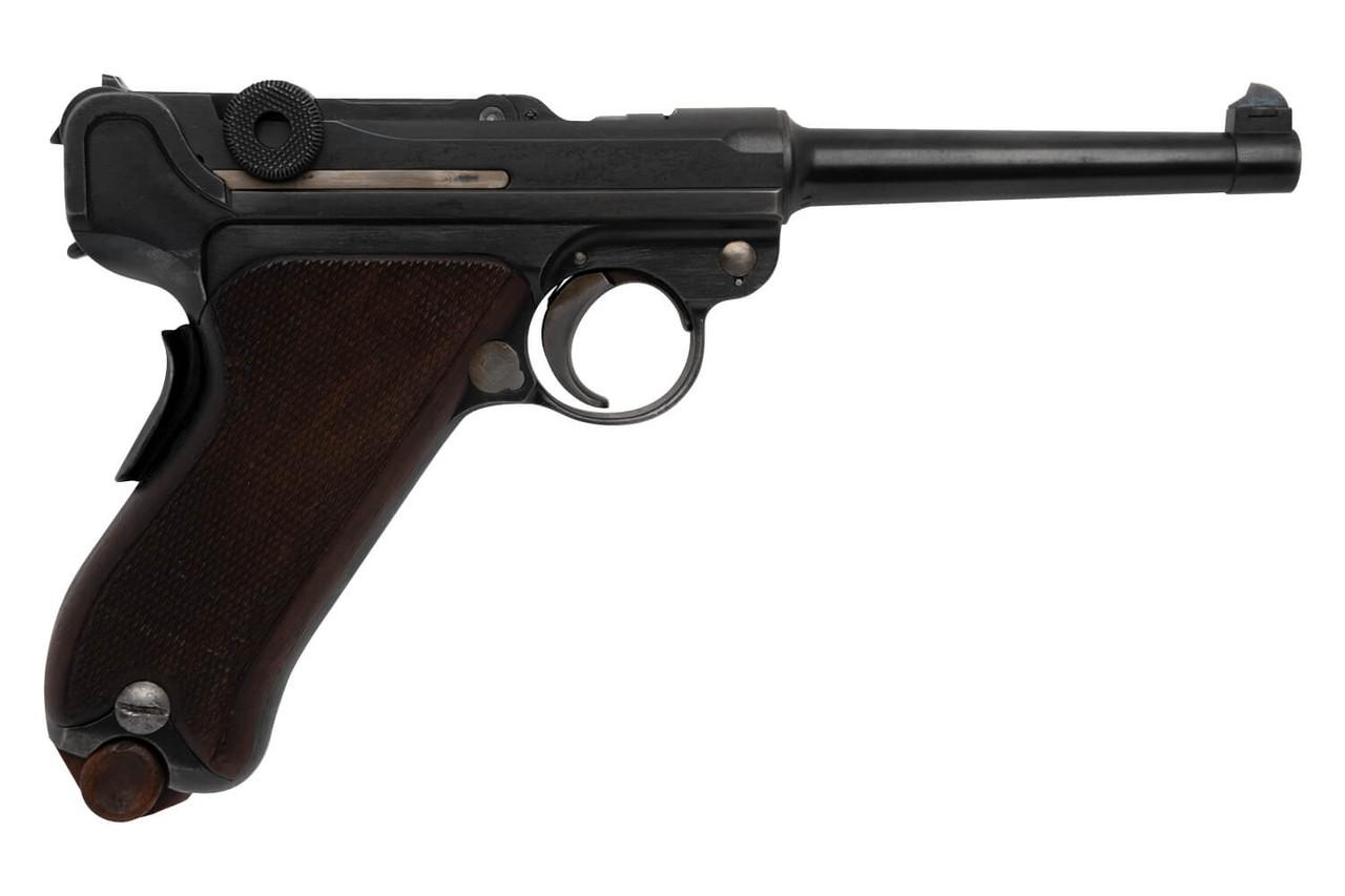 W+F Bern Swiss 06/24 Luger w/ Holster - sn 15xxx