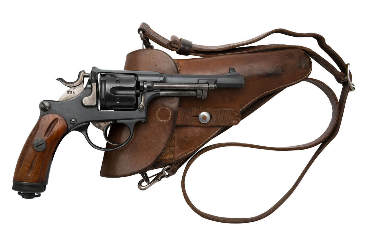 W+F Bern Swiss 1882 Revolver w/ Holster - sn 30xxx