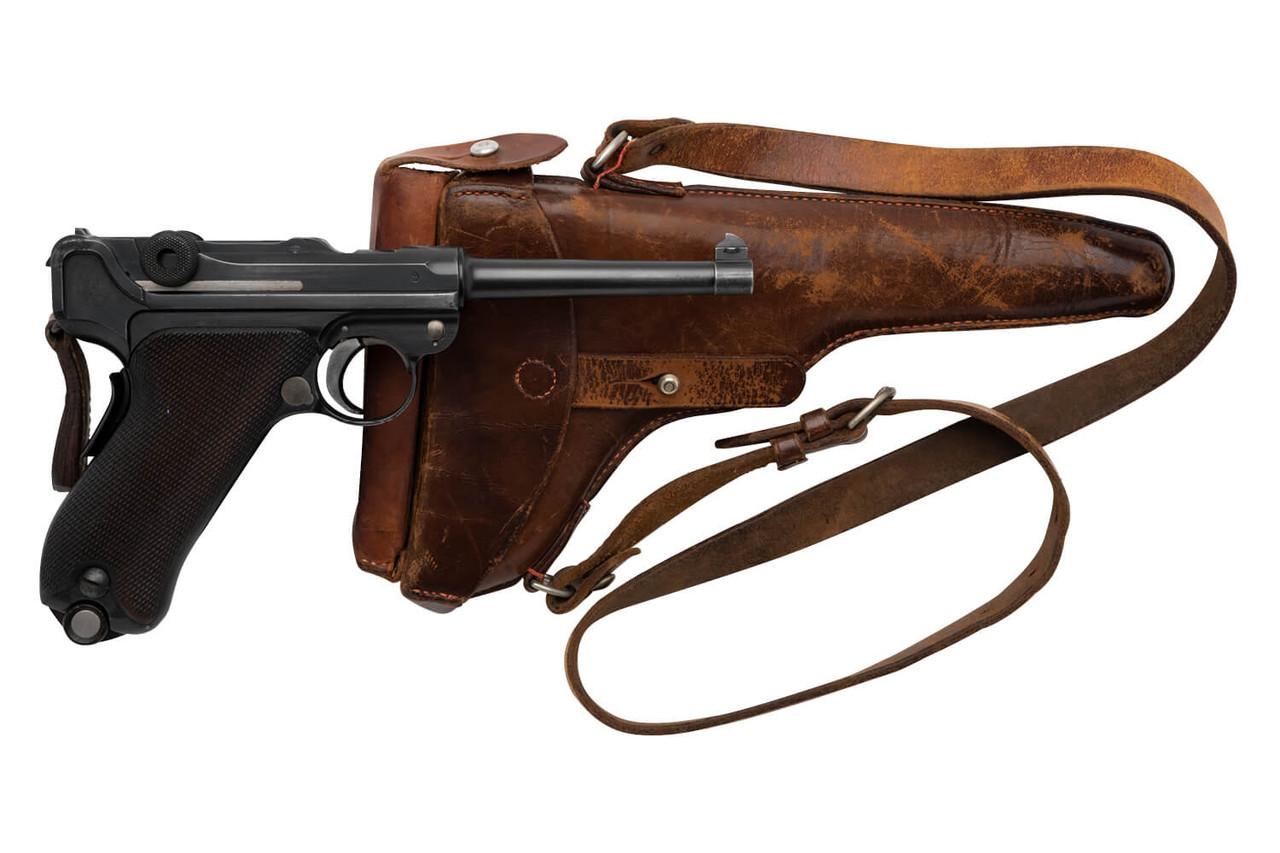DWM 1906 Swiss Luger w/ Holster - sn 14xxx