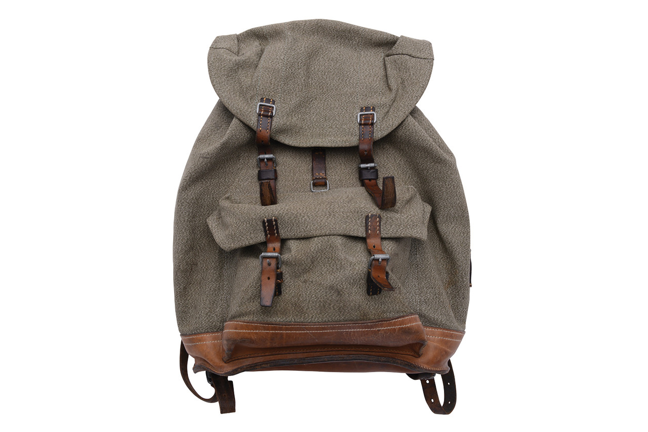 Swiss Army Salt and Pepper Backpack - Large