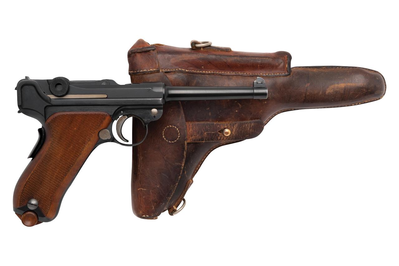W+F Bern Swiss 06/24 Luger w/ Holster - sn 22xx0