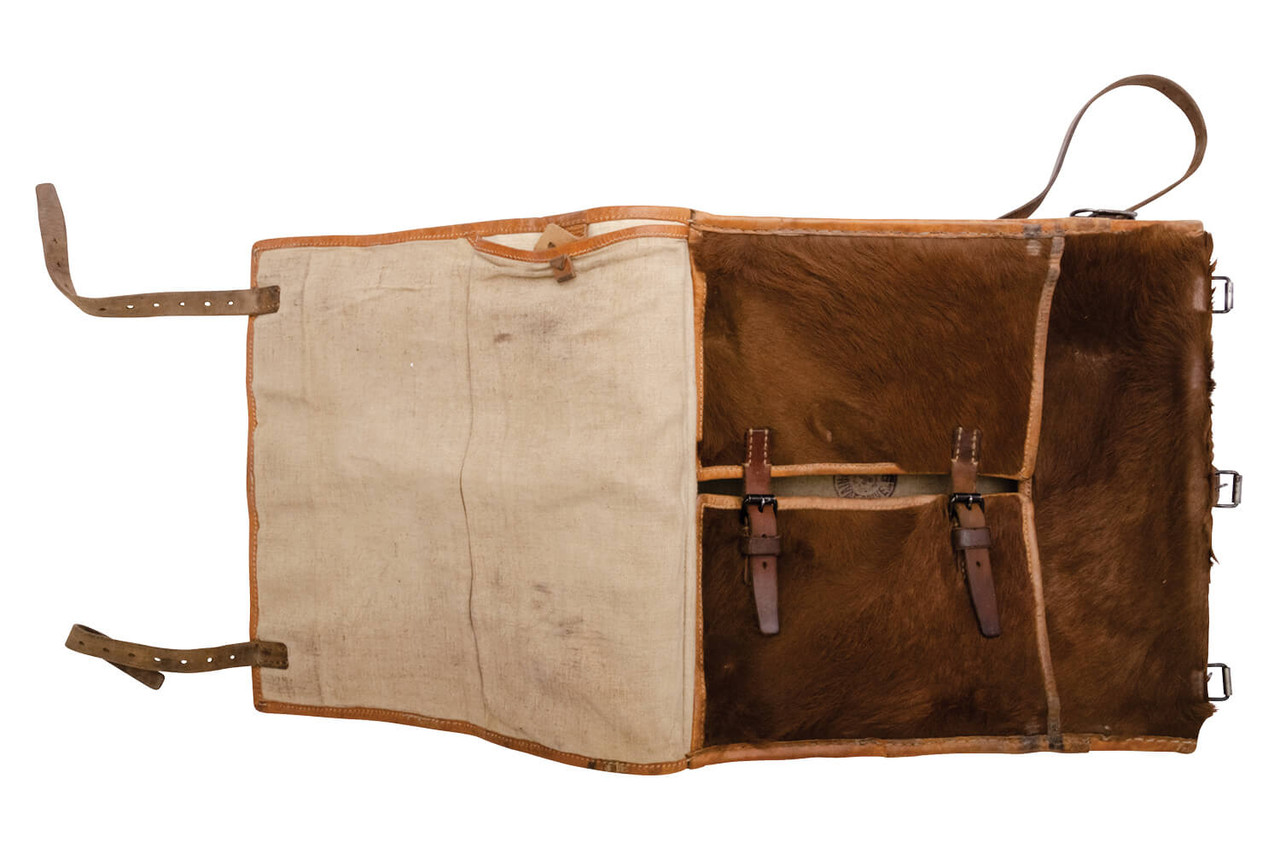 Swiss Medic / Radio Operator Large Cowhide Backpack (L08)