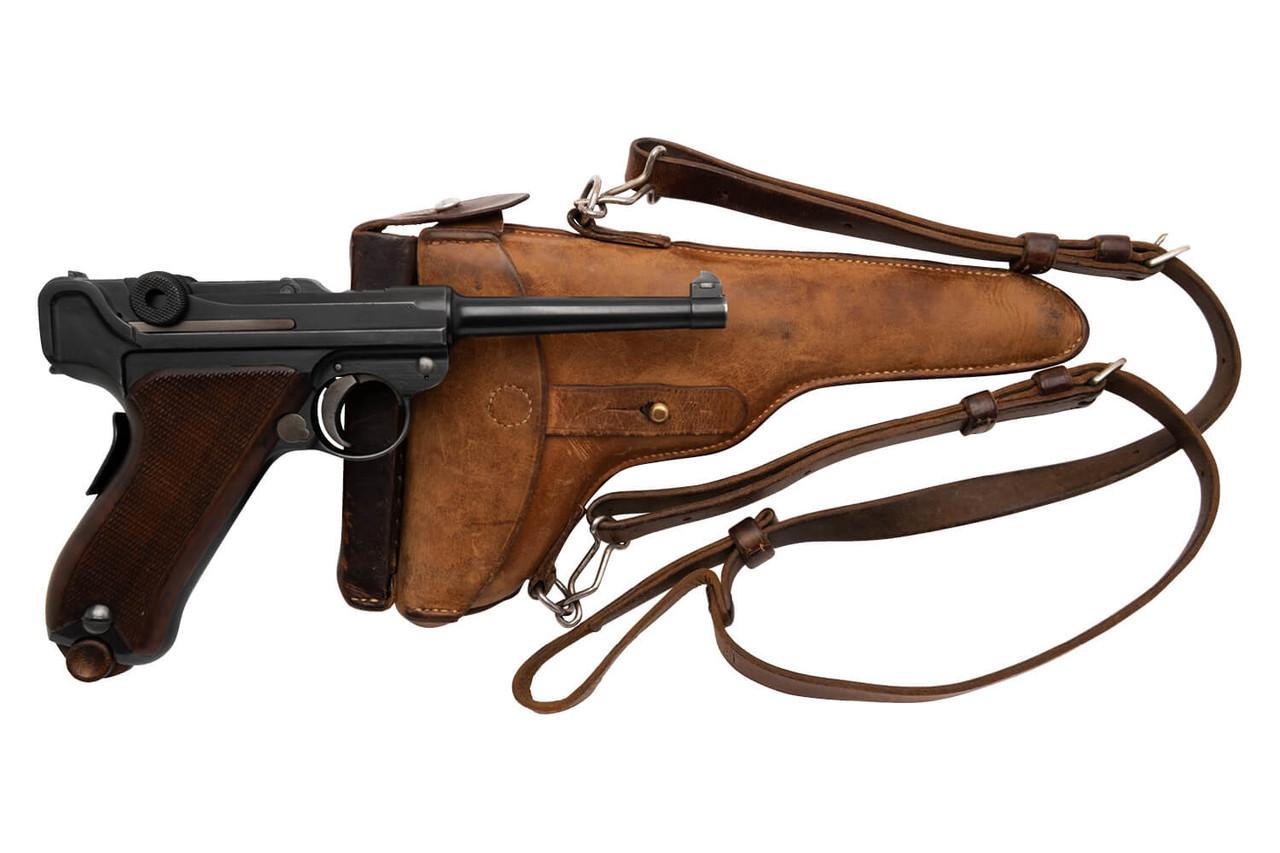 W+F Bern Swiss 06/24 Luger w/ Holster - sn 27xx7