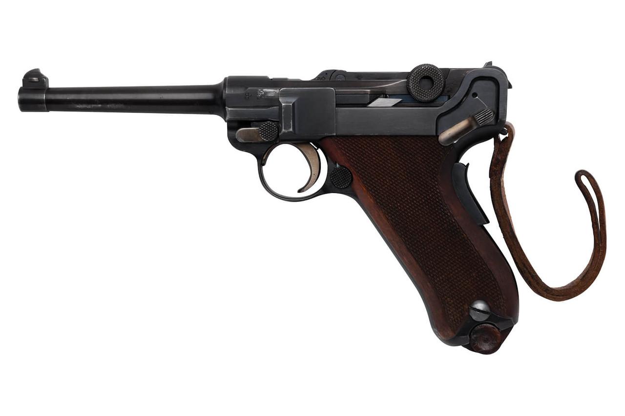 W+F Bern Swiss 06/24 Luger w/ Holster - sn 25xx1