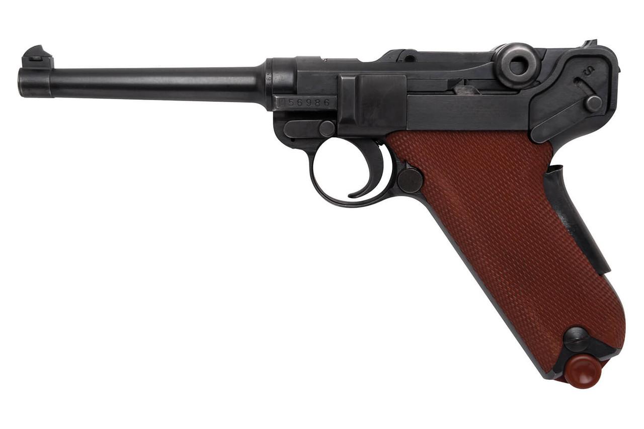 W+F Bern Swiss 06/29 Luger w/ Red Grips & Holster - sn 56xx6