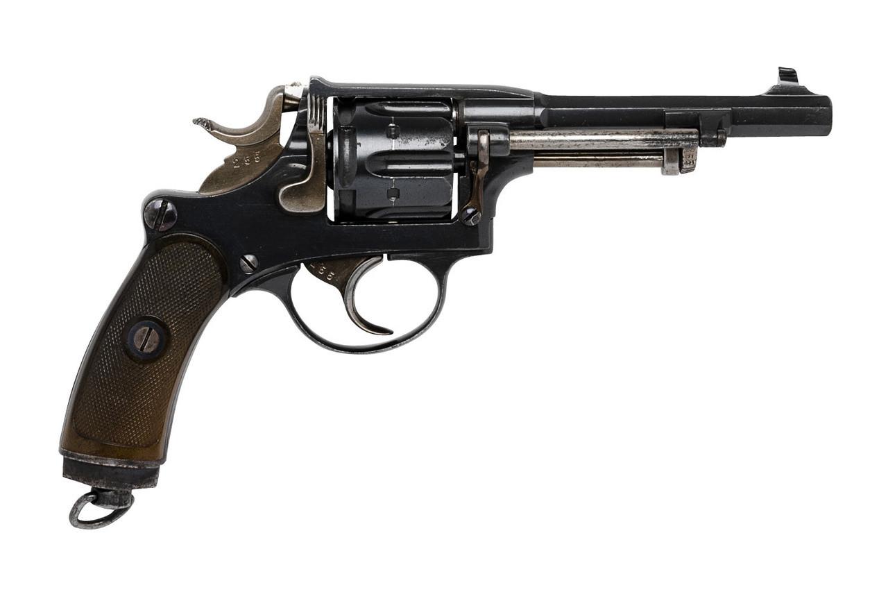 W+F Bern Swiss 1882 Revolver - sn 18xxx