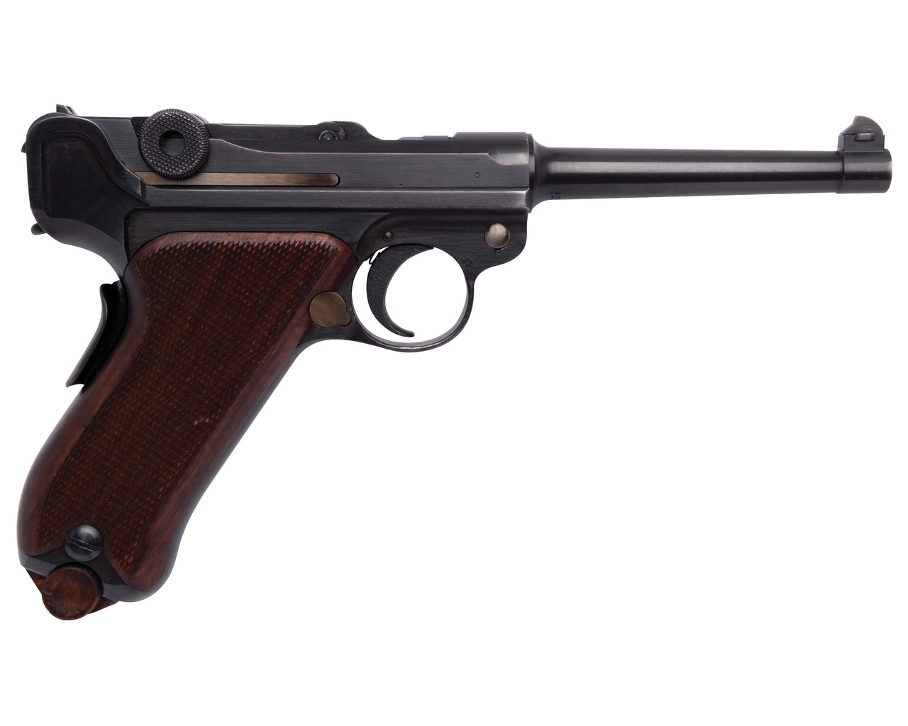 W+F Bern Swiss 06/24 Luger with Holster - sn 32xxx