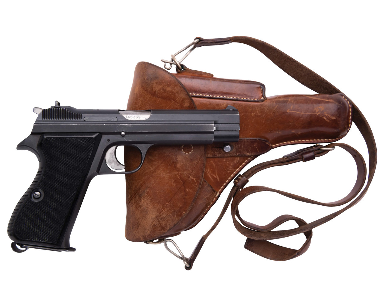 SIG Swiss Army P49 w/ Holster - sn A145xxx