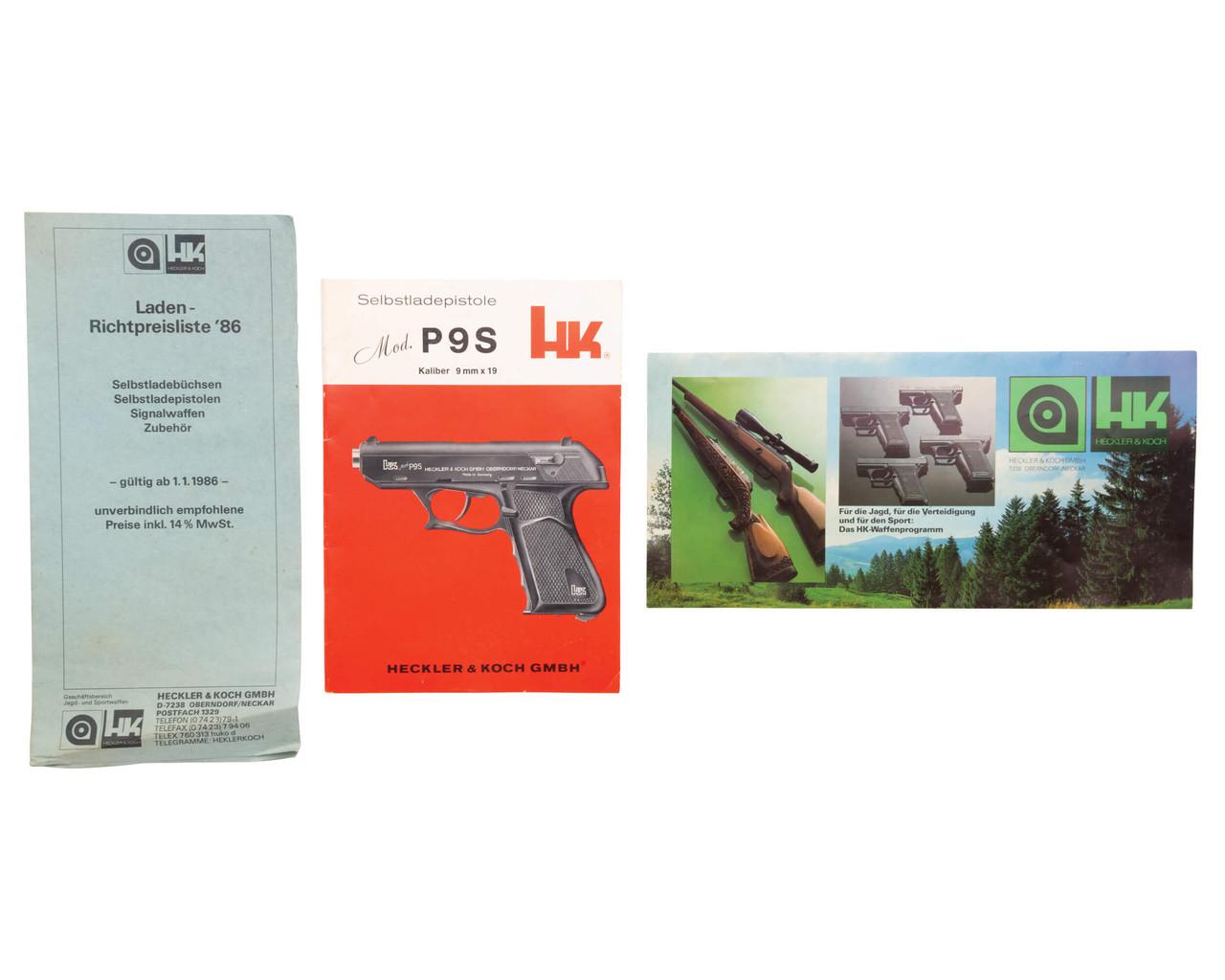 H&K P9S Sport Group III - sn 137xxx