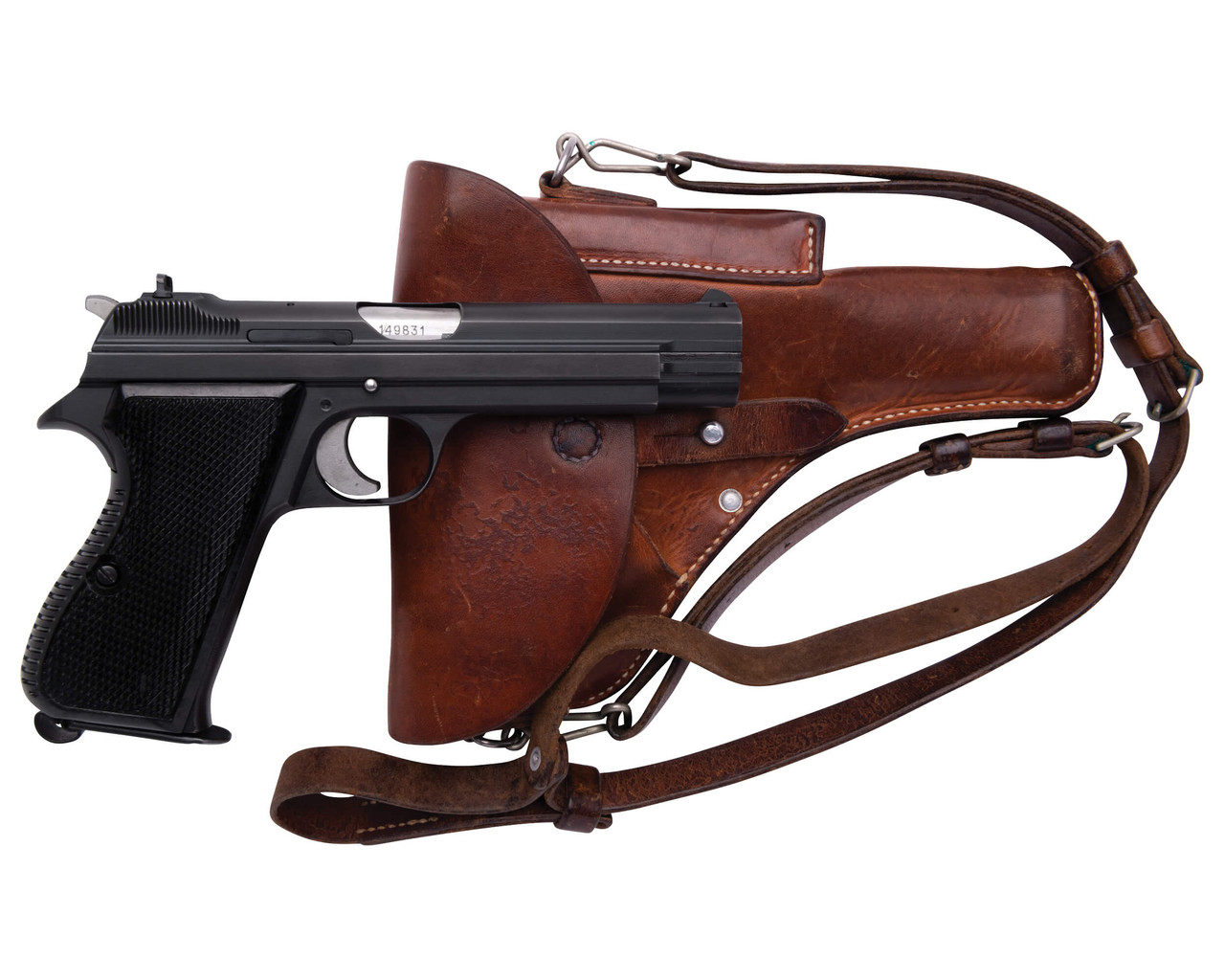 SIG Swiss Army P49 w/ Holster - sn A149xxx