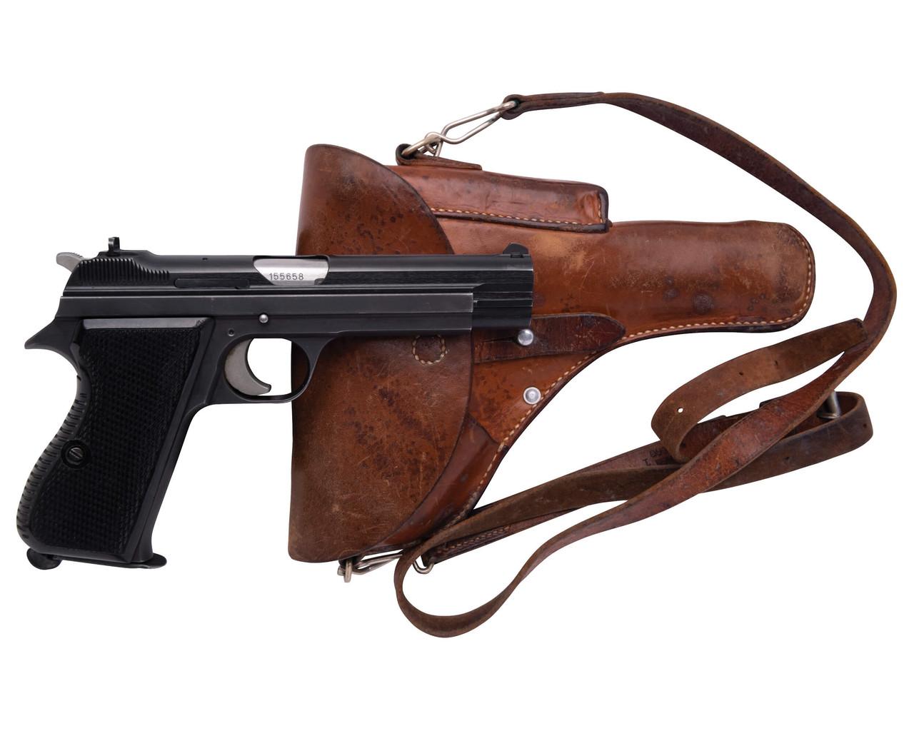 SIG Swiss Army P49 w/ Holster - sn A155xxx