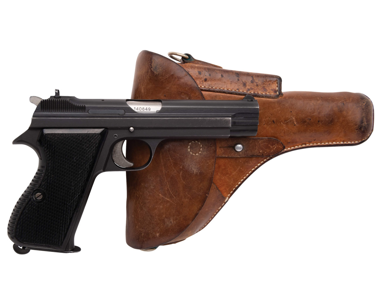 SIG Swiss Army P49 w/ Holster - sn A140xxx