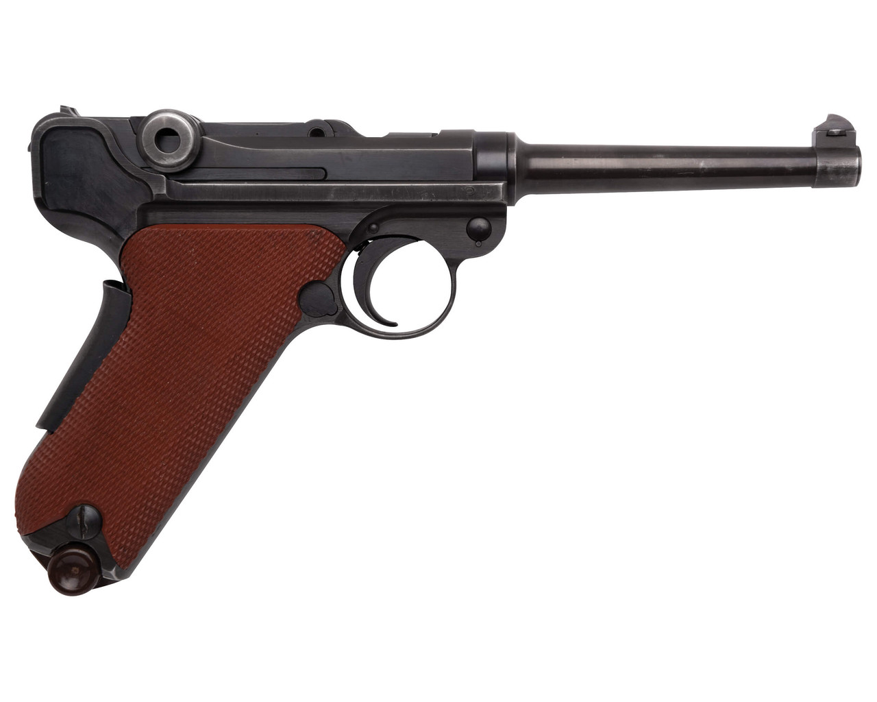 W+F Bern Swiss 06/29 Luger - Red Grips - sn 51xxx