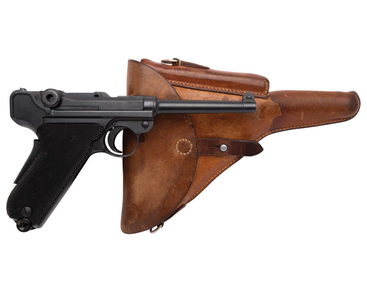 W+F Bern Swiss 06/29 Luger w/ Holster - sn 75xxx