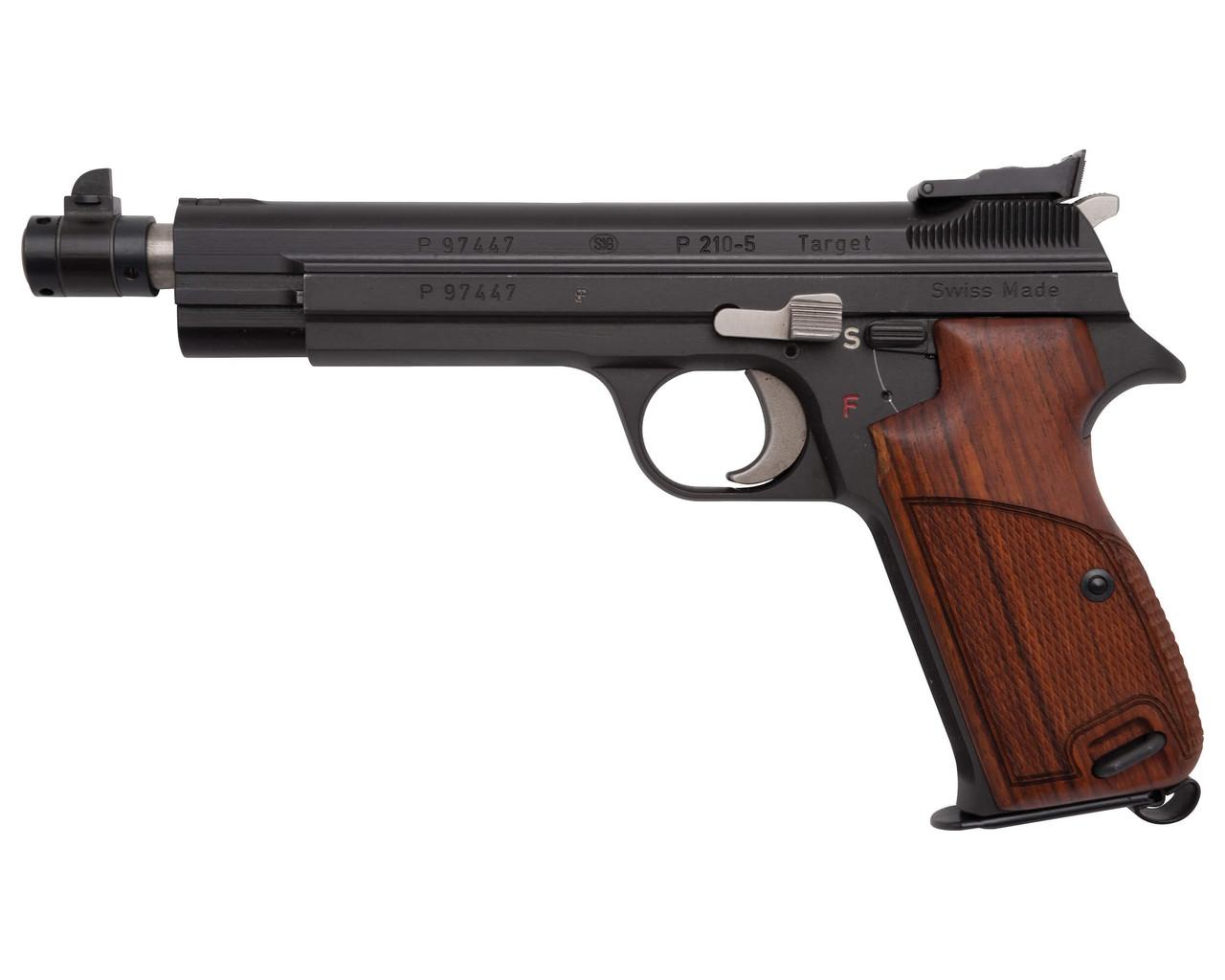 "Scarce SIG P210-5 Target - 5.9"" Barrel - sn P97xxx"