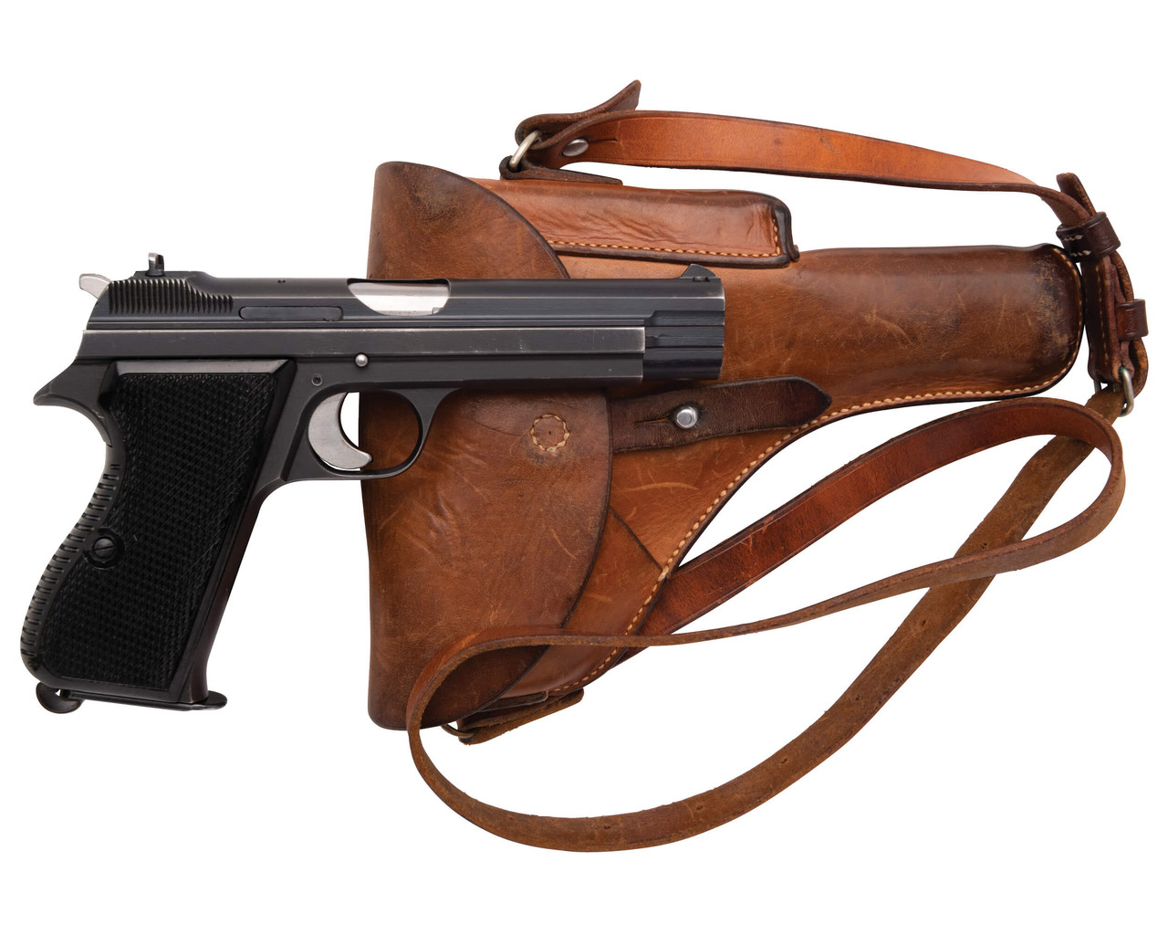 SIG Swiss Army P49 w/ Holster - sn A116xxx
