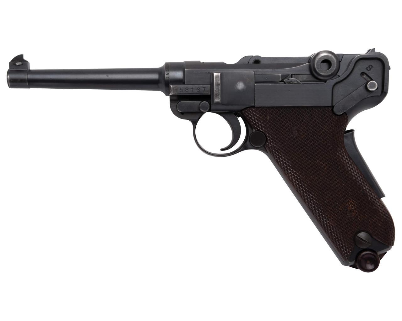 W+F Bern Swiss 06/29 Luger w/ Holster - sn 58xx7