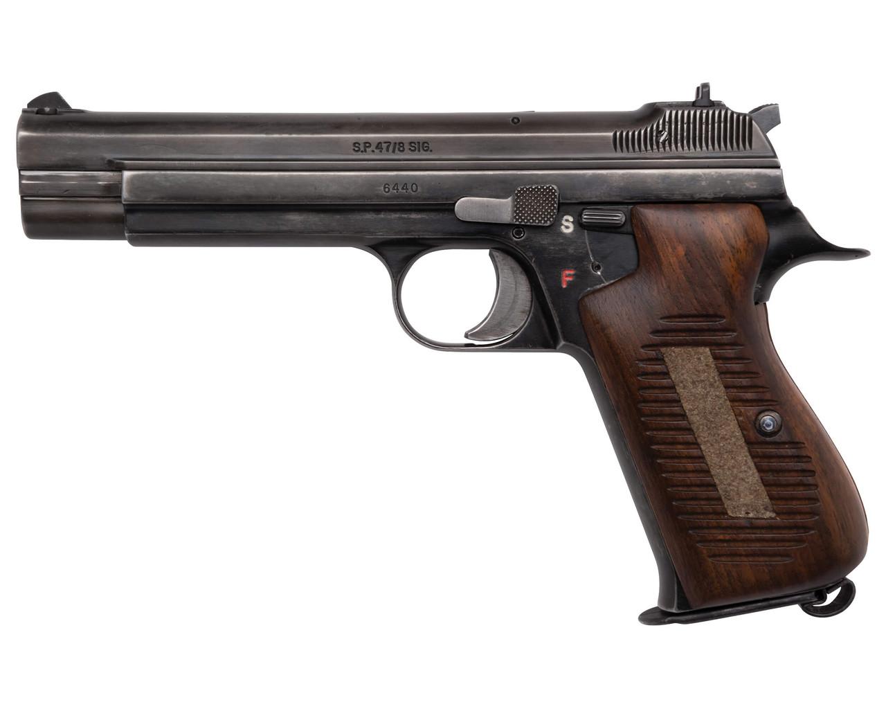 Rare Swiss SIG SP 47/8 - sn 64x0