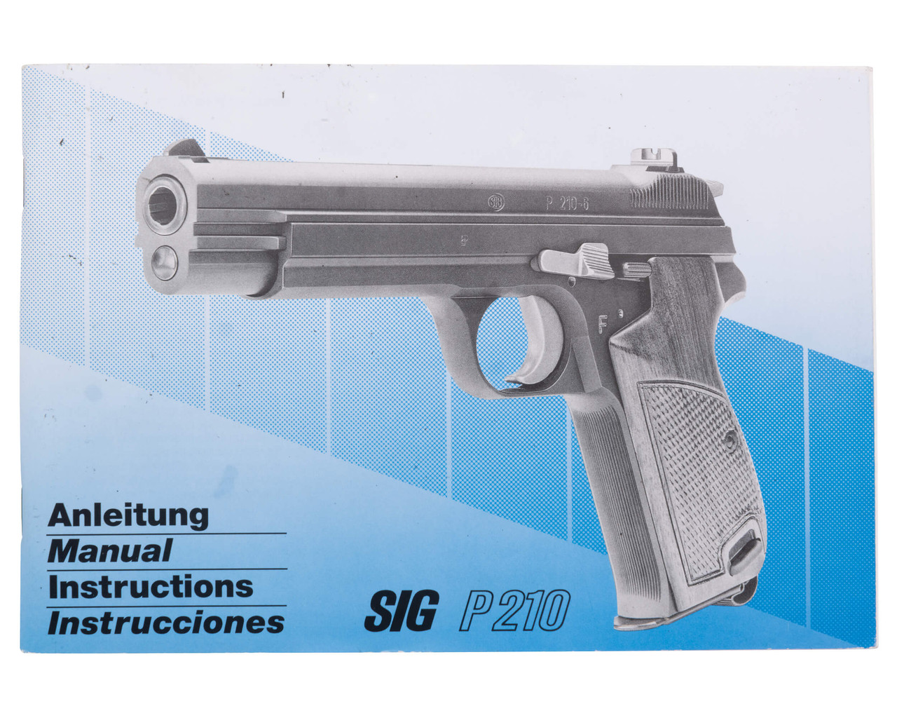 Swiss SIG P210-6 Sport Pistol w/ Holster - sn P89xxx