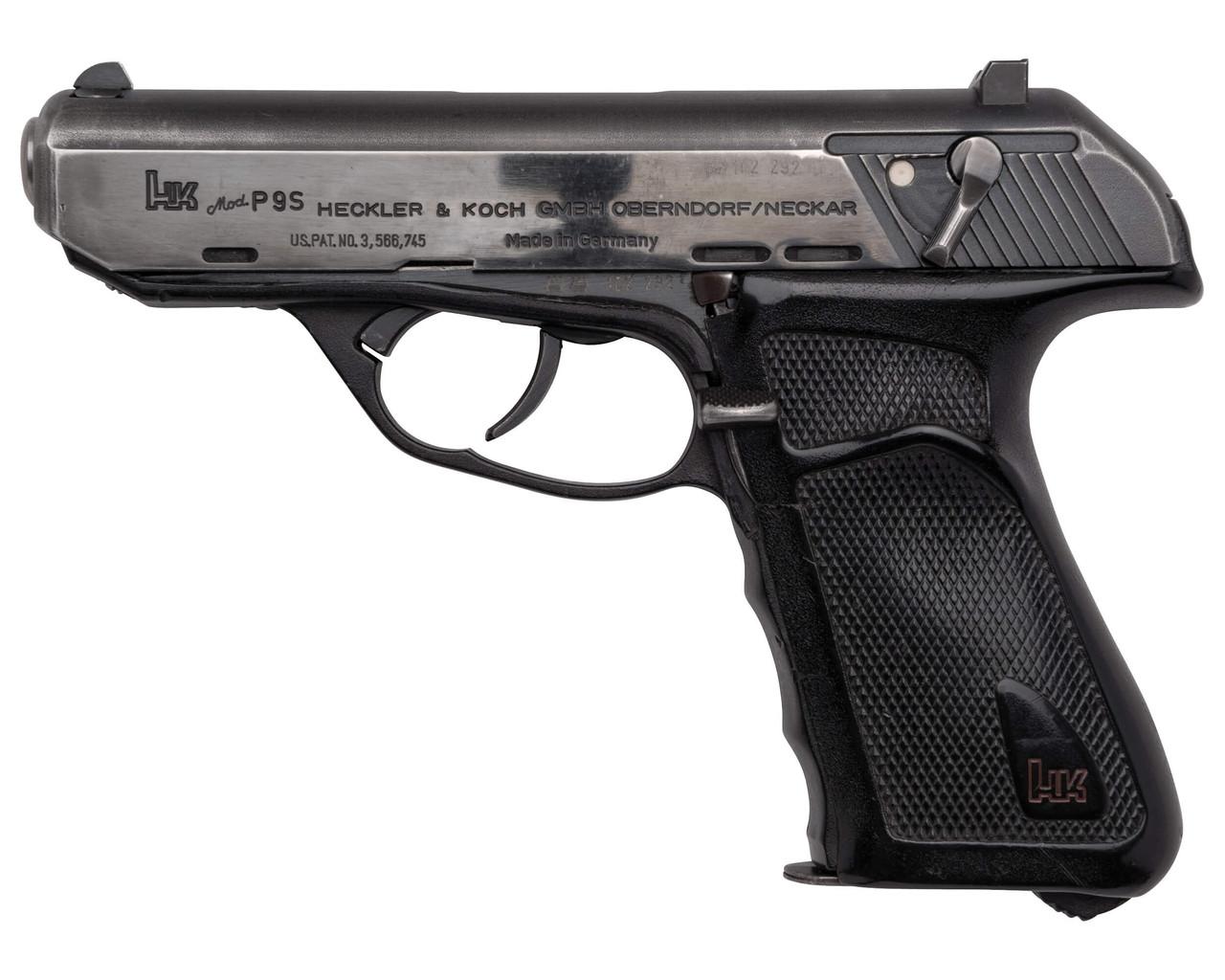 H&K P9S - Polished Finish - sn 102xxx