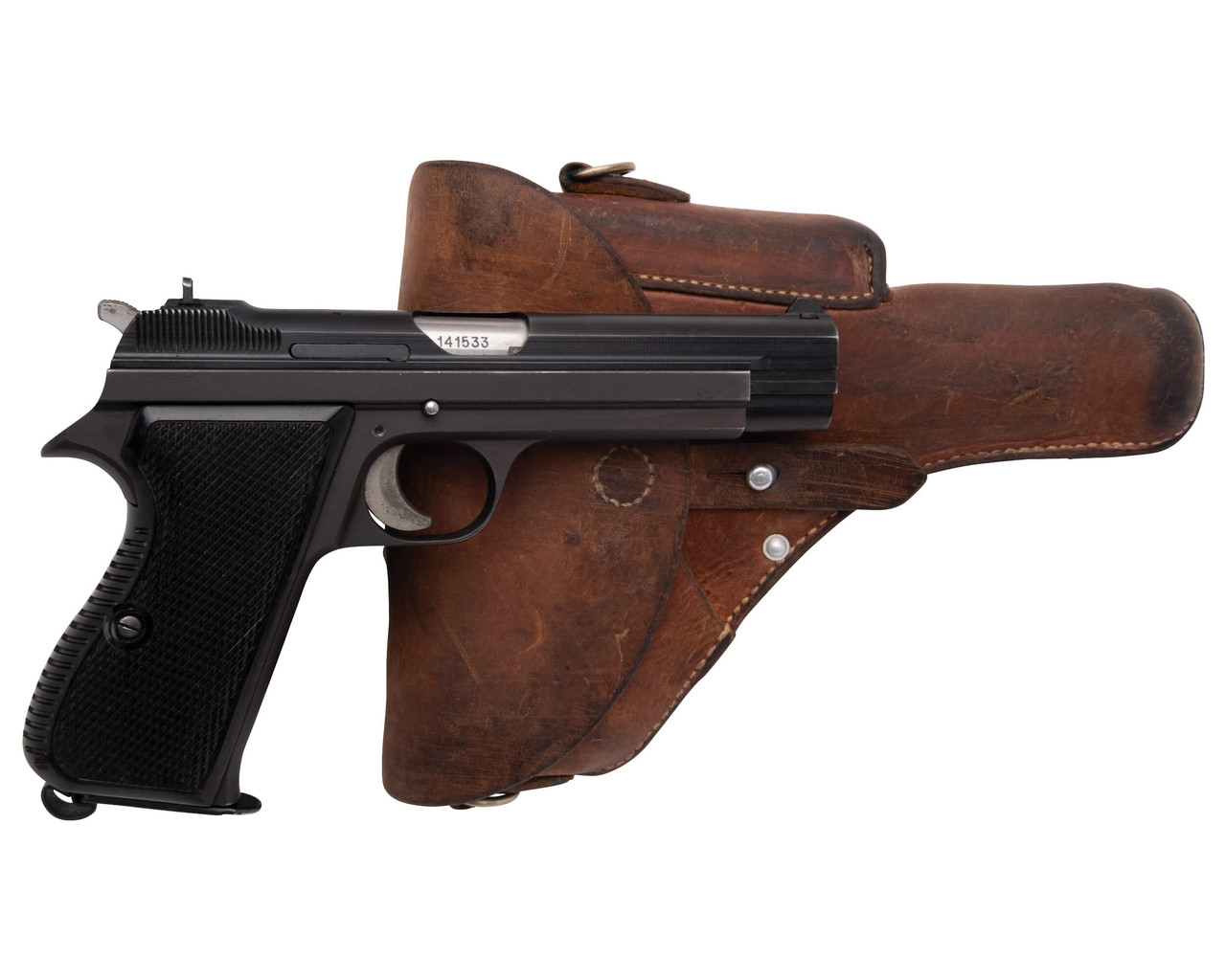 SIG Swiss Army P49 w/ Holster - sn A141xxx