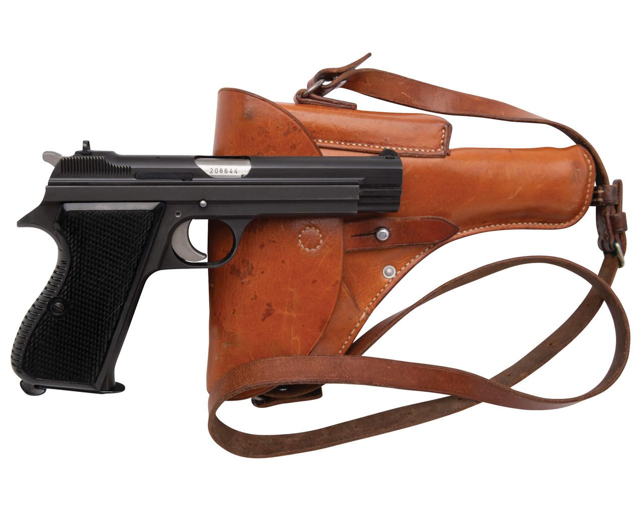 SIG Swiss Army P49 w/ Holster - sn A208xxx