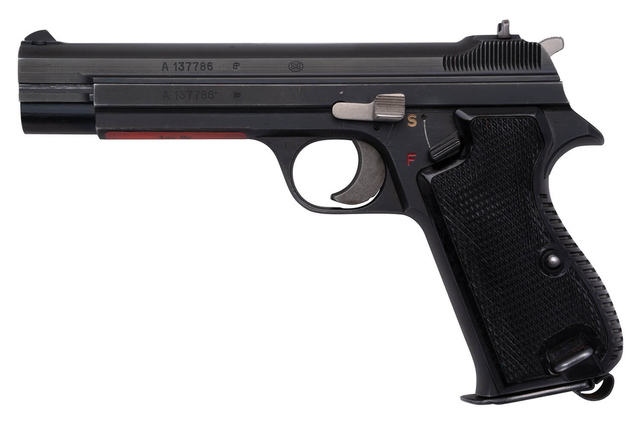 Swiss Officer SIG P49 Pistol & Trunk Package