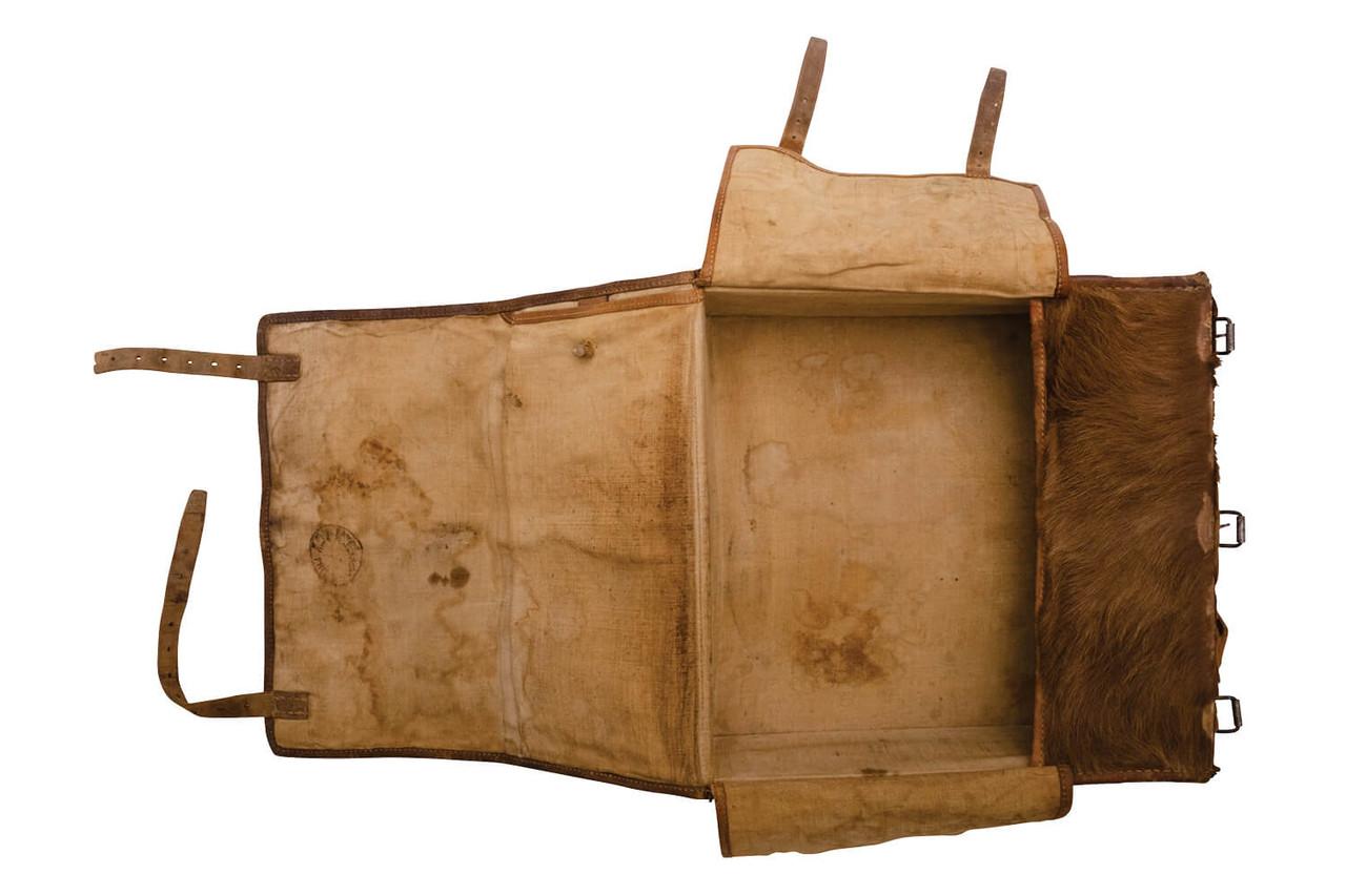 Swiss Medic / Radio Operator Large Cowhide Backpack (L11)