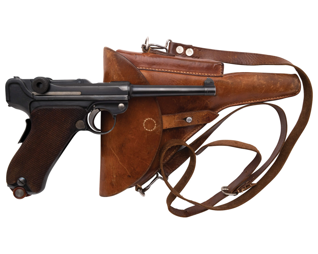DWM Luger 1900/06 w/ Holster - sn 53xx